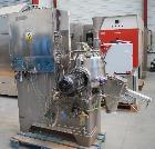 Used- Baker Perkins Vertical Mixer/ Granulator/Dryer. Jacketed stainless steel tank. Capacity 10.5 gallons (40 liters). Flat...