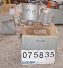 Used- Henschel High Intensity Mixer, Model FM 40D, 321 Stainless Steel.32 Liter (1.1 Cubic Feet) Working Capacity ( 40 liter...