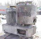 Used- Henschel High Intensity Mixer, Type FM500D, 11.5 cubic feet (500 liter). Stainless steel jacketed bowl, 36
