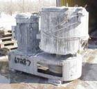 Used- Henschel High Intensity Mixer, Type FM500D, 11.5 cubic feet (500liter). Stainless steel jacketed bowl, 36
