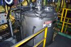 Used- Mitsui Miike High Intensity Mixer, Model FM1000J, 1000 Liter (35.3 Cubic Feet), Stainless Steel. Jacketed bowl 48
