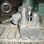 USED:Papenmeier high intensity mixer, model TGAHK8, .28 cu ft,8 liter capacity. Stainless steel jacketed bowl 8-1/2
