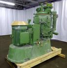 Used- Gunther Papenmeier High Intensity Mixer, Model TSHKV150, 316 Stainless Ste