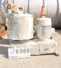 Used- Prodex High Intensity Mixer, Type 115JSS, 11.5 Cubic Feet (500 liter), Stainless Steel. Jacketed bowl 36