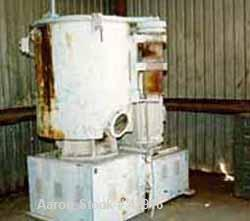 "Used- Welex High Intensity Mixer, Model 500M, Stainless Steel. 13 Cubic feet working capacity. Jacketed, 75 psi. Bowl 36"" di..."