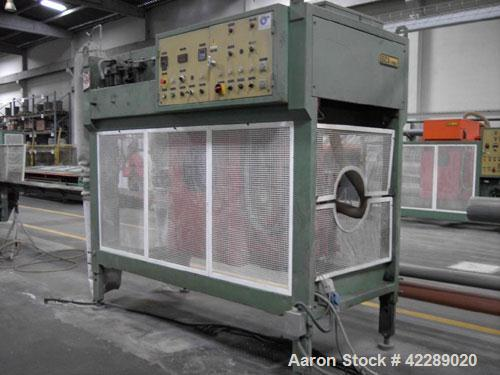 """Used-Battenfeld BEX2-92-28V Pipe Extrusion Line used for production of 1.33"""" - 7.87"""" (110-200 mm) u-PVC pipes, capacity 992 ..."""