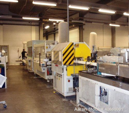 Used-Battenfeld Profile Line consisting of: (1) Battenfeld-Bex 2-90-22V/3 counter-rotating, parallel screws, 22 LD, TC 40 st...