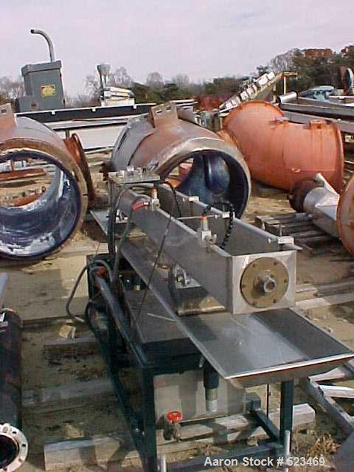 USED: Betol Betopac tubing/straw line consisting of the following: 50mm Betol model 5025, 24:1 L/D, non-vented extruder with...