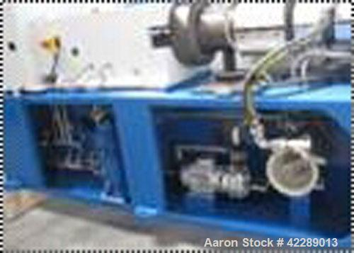 "Used-Cincinnati Twin Screw Extruder for PVC profiles or pipes, type CM55-SC. Pipe diameter 2.15"" - 6.25"" (55 - 160 mm), 23 k..."