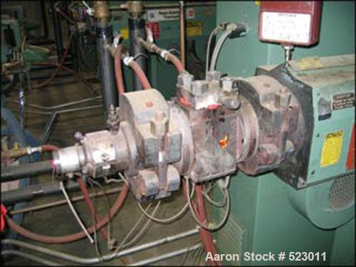 USED: Davis Standard tubing line consisting of the following: (1) Used Davis Standard extruder, model 20PB24, 24:1 L/D, elec...