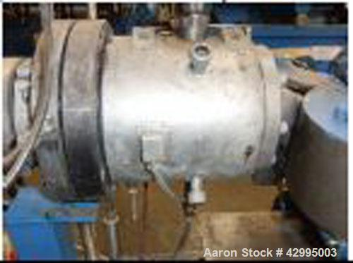 Used-Corrugated Pipe Extrusion Line comprised of:  (1) Extrudex EDN 60-30D extruder, built 1996.  (1) UC 58 die head for 2.3...