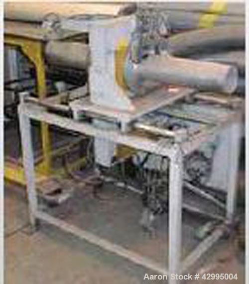 Used-Frankishe F4L Double Wall Corrugated PE Pipe Extrusion Line comprised of: (1) Kuhne K70-24D extruder, built 1987. (1) K...