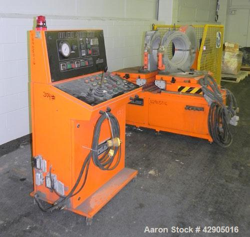Used- Ritmo Alfa 400 CTB TE PVC Pipe Welding Machine; Consisting of 1  Control Panel, Joint Table, Facer & heater, Approx. 1...