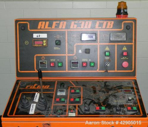 "Used- Ritmo Alfa 630 CTB PVC Pipe Welding Machine; Consisting of Control Panel, Joint Table, Facer & heater, Approx. 25"" Max..."
