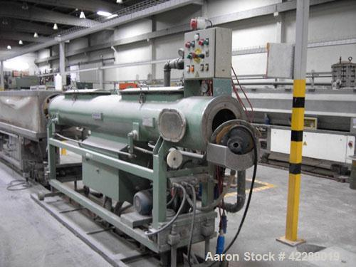"Used-Reifenhauser Pipe Extrusion Line used for 0.98"" - 3.5"" (25-90 mm) u-PVC pipes, capacity 198 lbs/h (90 kg/h). Comprised ..."