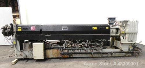 """Used- Sencorp Systems 120/150 Tandem Foam Processing Line Consisting Of: (1) Davis Standard 4-1/2"""" Thermatic single screw ex..."""