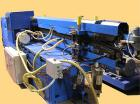 USED: Corma corrugator complete with die head, type 120 HSL VAC. Mold blocks cavity sizes available: 1