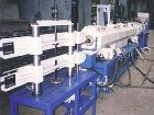 Used-Pipe Extrusion Line. Pipe diameter 0.63