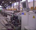 Used-Krauss Maffei Pipe Extrusion Line used on 9.84