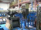 Used-Unicor UC 1000/9 iV Corrugator Extrusion Line, for corrugated PE double wall pipes up to maximum 39.37