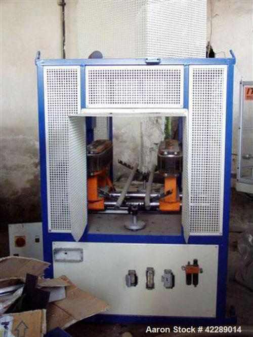 Used-Unicor Extrusion Line for corrugated HDPE double wall pipes, type UC 500-40iV, range pipes in rolls. Cable protection: ...