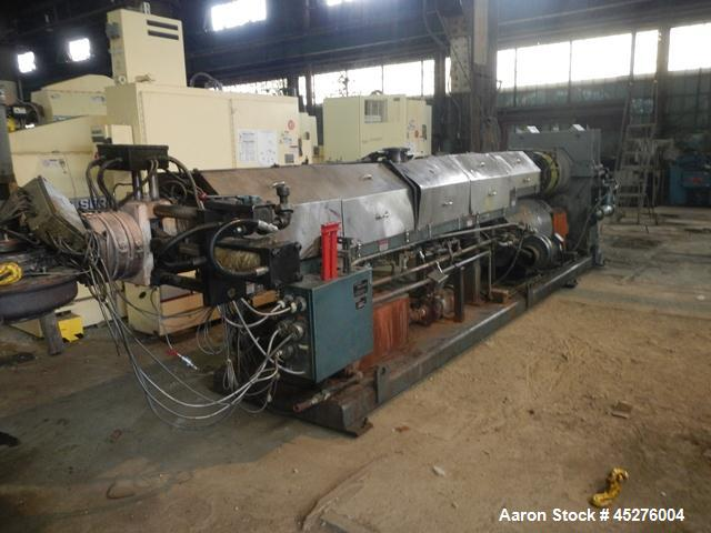 "Used- Crown 6"" Water Ring Pelletizing Line"