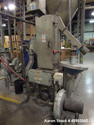 "Used- Davis Standard 6"" Underwater Pelletizing Line Consisting Of: (1) Davis Standard 6"" Single Screw Extruder, Model 60IN60..."