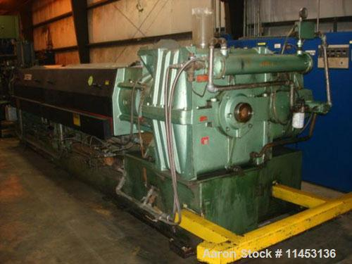 "Used- One (1) pelletizing extrusion line consisting of the following: (1) Davis Standard extruder, model 60IN60TH, 6"" diamet..."