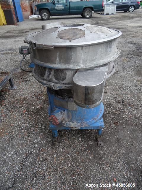"Used-  6"" Deltaplast extruder, 32 to 1 L/D ratio. Electrically heated, water cooled, jacketed feed section, thru Hamilton ge..."