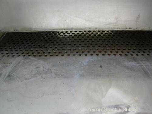 "USED: Freesia Macross Corp pelletizing line consisting of: (1) Freesia Macross 65mm (2.55"") single screw extruder, approx 36..."