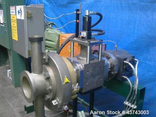 """Used-Gala Underwater Granulation Line comprised of: (1) Die head 1.9"""" x 0.13"""" (48 x 3.5 mm) with heating and flange. (1) Die..."""