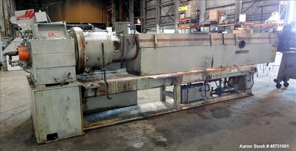 "Used- 6"" Water Ring Pelletizing Line"