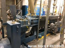 Used- Davis Standard Extruder 3.5: Screw diameter approximately 30:1 L/D ratio, side vented electrically heated air cooled b...
