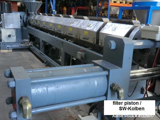 Used-OMP Granulating Line, PreAlpina 180E