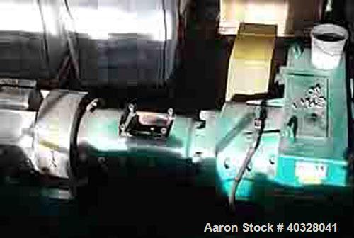 "Used-Prealpina Single Screw Extruder, Type 180.  Capacity 1760 lbs/800 kgs per hour.  35:1 L/D.  7.02"" (180 mm) screw diamet..."