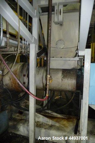 """Used- 8"""" PTI Water Ring Pelletizing Line"""