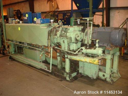 "Used- Sterling  extruder, 3.5"" diameter screw"