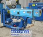 Used- Berlyn Pelletizing Line Consisting Of: (1) Berlyn 2