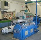 USED: Achenbach/Krauss Maffei pipe extrusion line for PE pipe up to 2.48