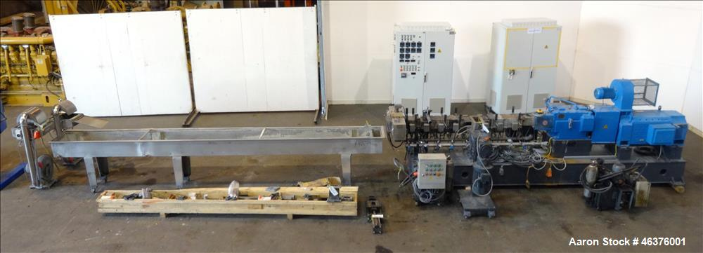 Coperion Twin Screw Extruder, Model STS 65