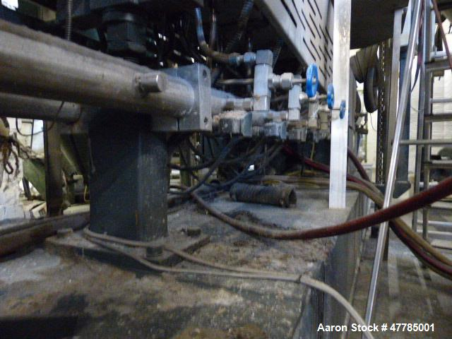 Used- Twin Screw Pelletizing Line to include: Coperion STS 65 twin screw extruder, Busch Cobra NC 0250 A vacuum pump, built ...