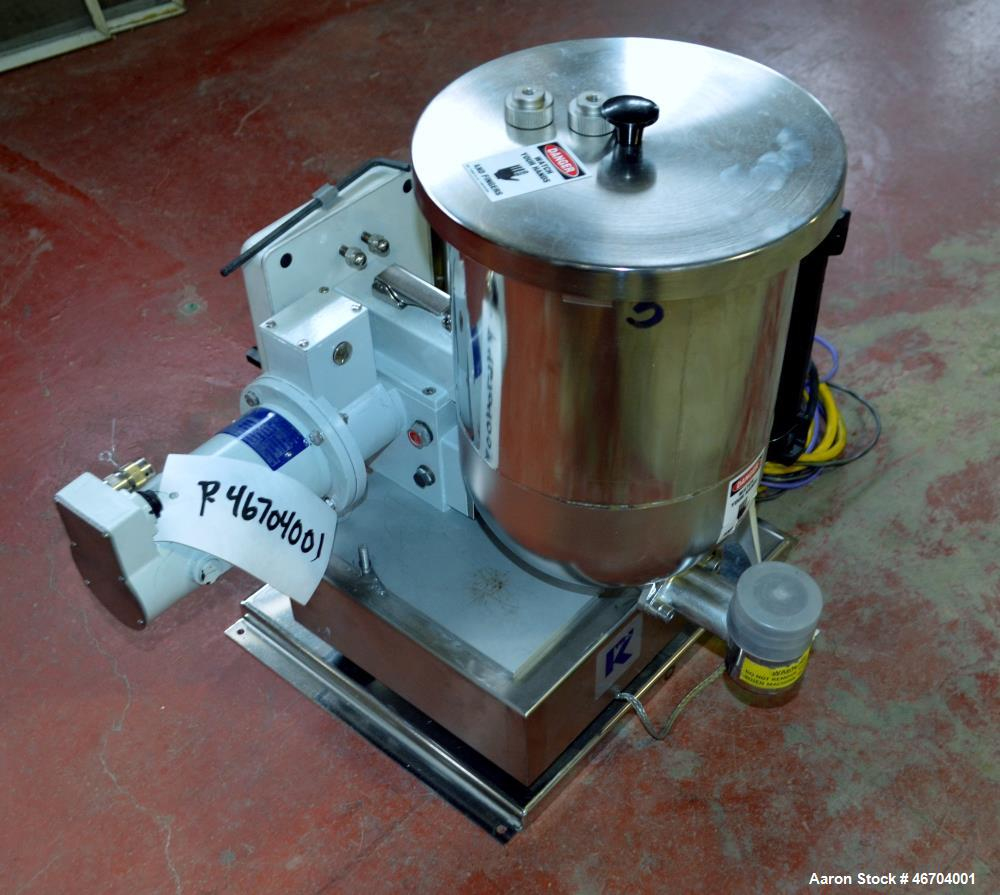 Used- Coperion 25.5mm Co-Rotating Twin Screw MFG 2010 Pelletizing Line