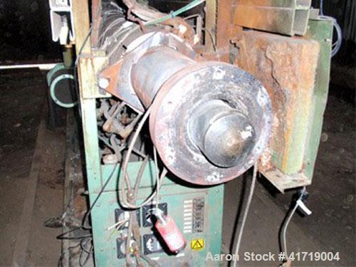 "Used-Davis Standard/NRM PMIII Single Screw Extruder. 4.5"" (114 mm), 32 L/D screw, 250 hp (190 kW), electrically heated, air ..."