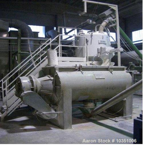 Used- Industrie Generali 130-22D PVC Compounds Extrusion Line, maximum output 1543 lbs (700 kg/hour). Comprising of: (1) Ind...