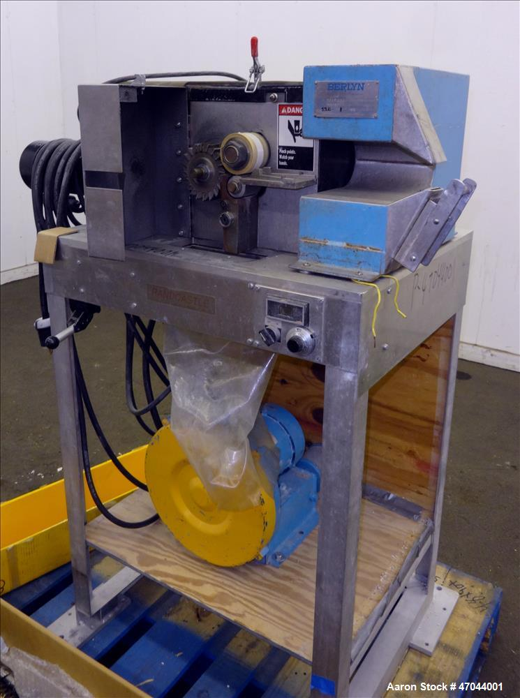 Used- Leistritz Twin Screw Extruder, Model LSM 30.34