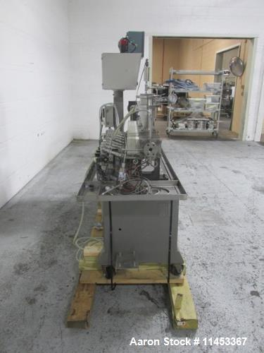 Used- Leistritz Twin Screw Pelletizing Line, Model Micro27-GGC-40D. 27 mm screws, counter rotating screws, 40:1 l/d, 500 rpm...