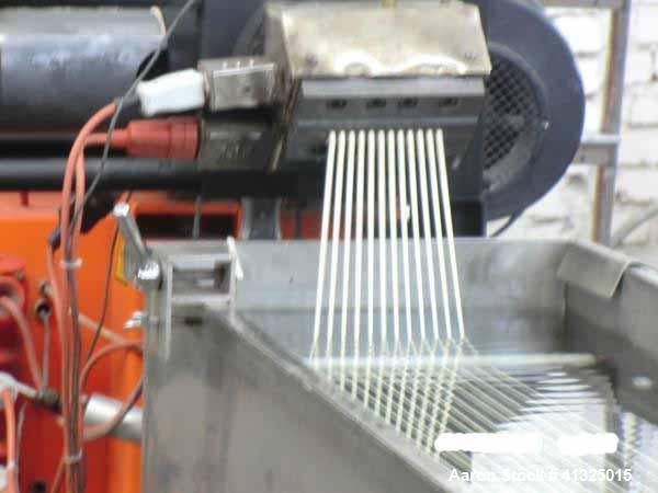 Used- Leistritz ZSE 65 Granulating Line