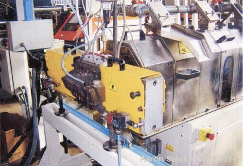 """Used-Compounding Plant. (1) Trimec co-rotating twin screw extruder, 1.6"""" (40 mm), length 42D, 125 hp/92 kW drive with 780 rp..."""