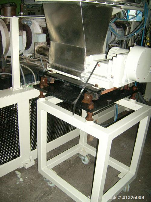 Used-Reifenhaeuser Compounding/Granulating Line consisting of:  (1) Reifenhaeuser twin screw extruder, type RZE85, 41:1 L/D,...