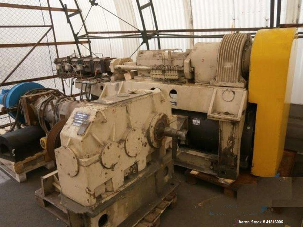 "Used-Werner Pfleiderer ZDSK-83/ES-A-200 Granulator/Extrusion Line.  Screw diameter 3.26"" (83 mm).  15:1 L/D.  Motor 60 hp (4..."